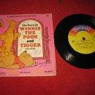 1968 Disneyland Record & Book Set #333: Winnie the Pooh & Tigger - Buena Vista Pub.