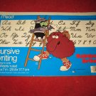 "1983 Rainbow Brite ' Learn to Write Cursive"" learning tablet - partially used"