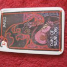 1981 DragonMaster Board game playing card: Jared, Duke of Warriors
