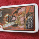 1981 DragonMaster Board game playing card: Theo, Prince of Warriors