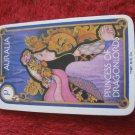 1981 DragonMaster Board game playing card: Auralia, Princess of Dragonlords
