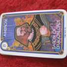 1981 DragonMaster Board game playing card: Ambrose, Baron of Dragonlords