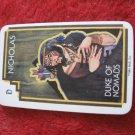 1981 DragonMaster Board game playing card: Nicholas, Duke of Nomads