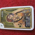 1981 DragonMaster Board game playing card: Alexis, Prince of Nomads