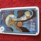1981 DragonMaster Board game playing card: Sybill, Queen of Druids