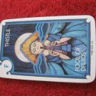 1981 DragonMaster Board game playing card: Thistle, Fool of Druids