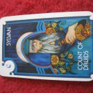 1981 DragonMaster Board game playing card: Sylvan, Count of Druids