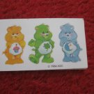 1984 Care Bears- Warm Feeling Board Game Replacement part: 3 bear card