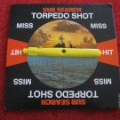 1973 Sub Search Board Game Replacement part: Torpedo Shot Spinner