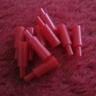 1973 Sub Search Board Game Replacement part: lot of 10 red HIT Markers