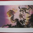 "vintage Boris Vallejo: Through the Reality Warp - 11.5"" x 8.5"" Book Plate Print"