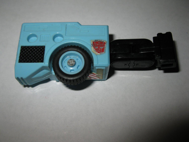 G1 Transformers Action figure part: 1986 Hot Spot - Full Right Leg