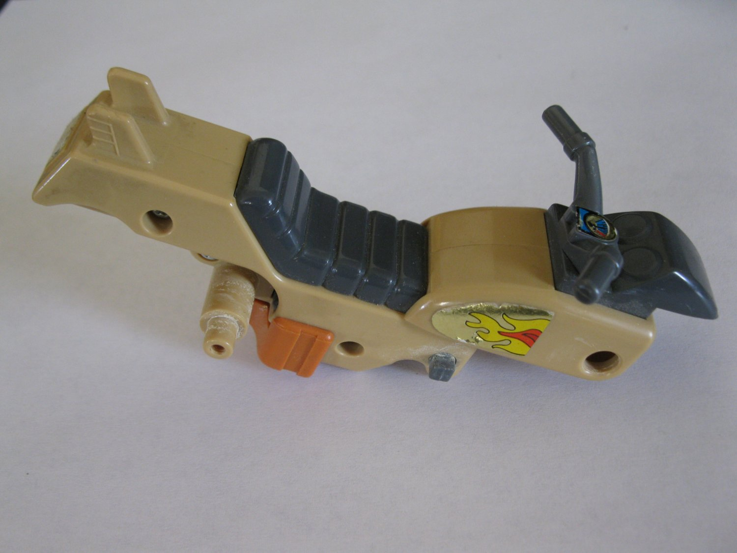 G1 Transformers Action figure part: 1986 Wreck-Gar - Motorcycle Body