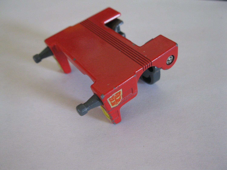 G1 Transformers Action figure part: 1986 Wreck-Gar - Metal Chest Plate