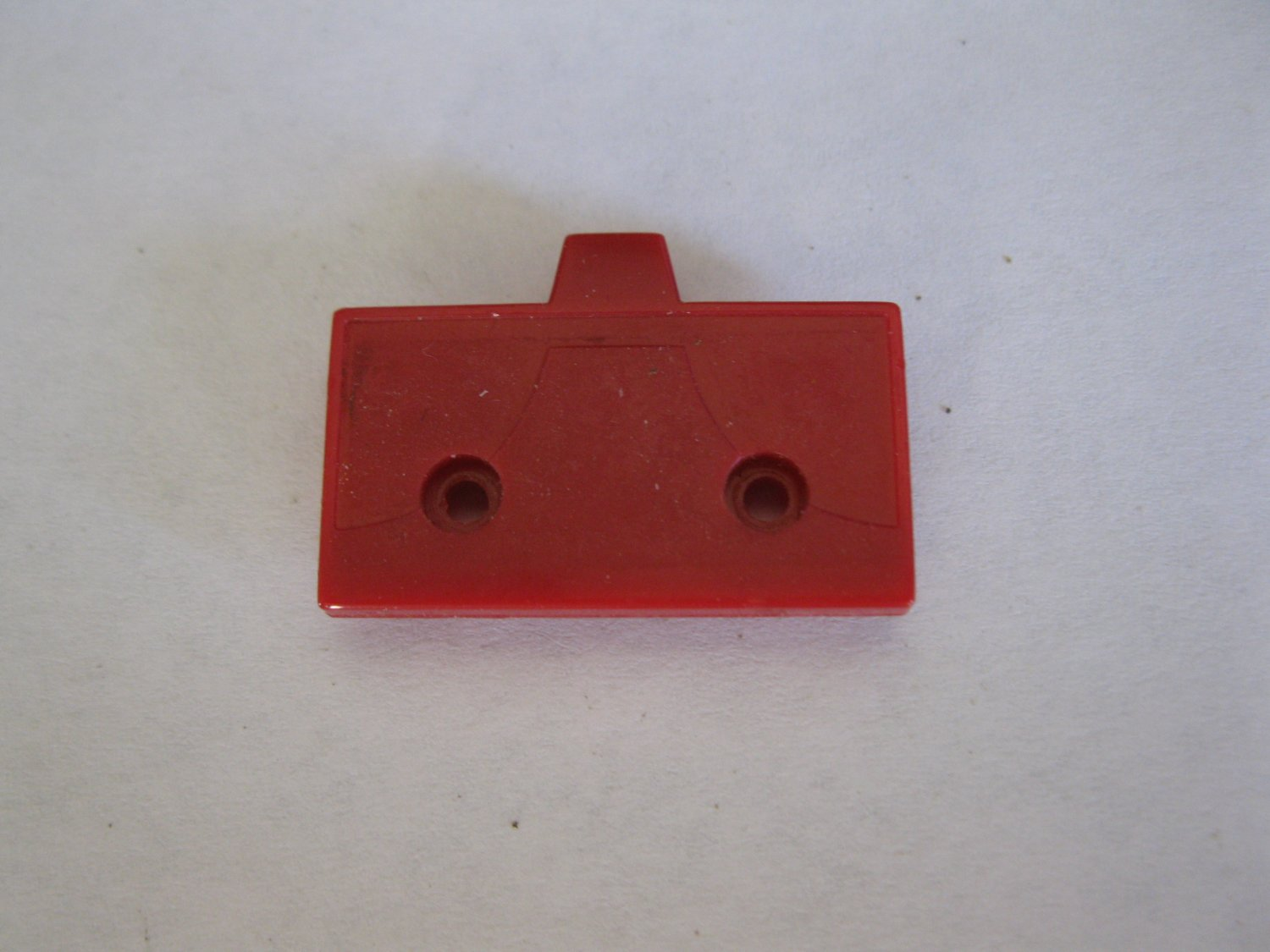 G1 Transformers Action figure part: 1986 Rodimus Prime - Red Cover Plate