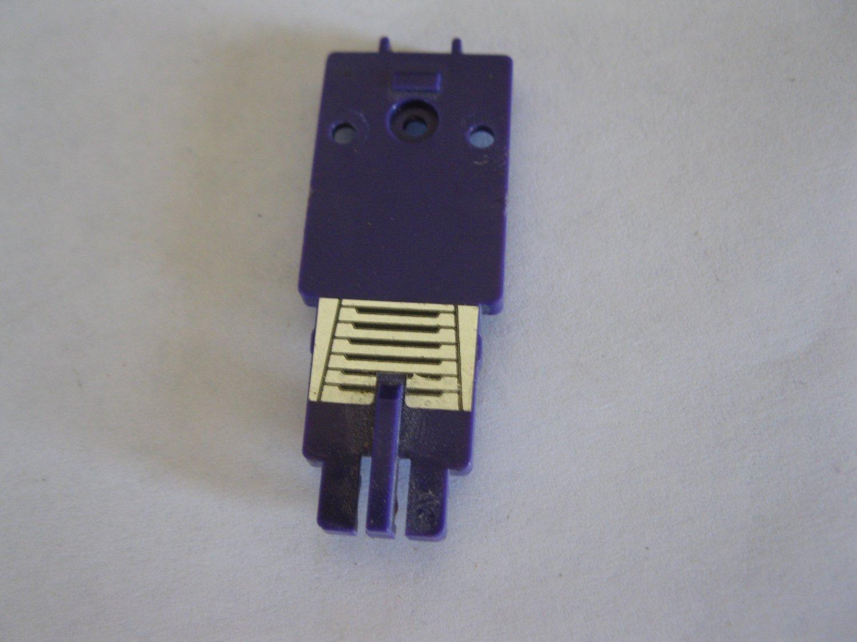 G1 Transformers Action figure part: 1984 Bonecrusher - Purple Body Front Section