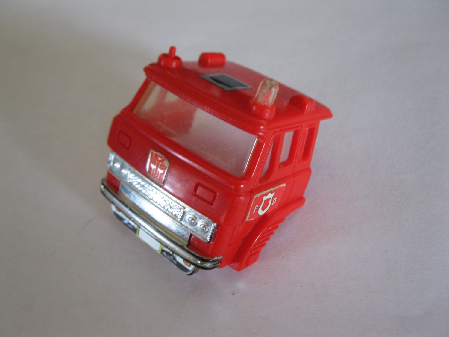 G1 Transformers Action figure part: 1985 Inferno - Truck Cab