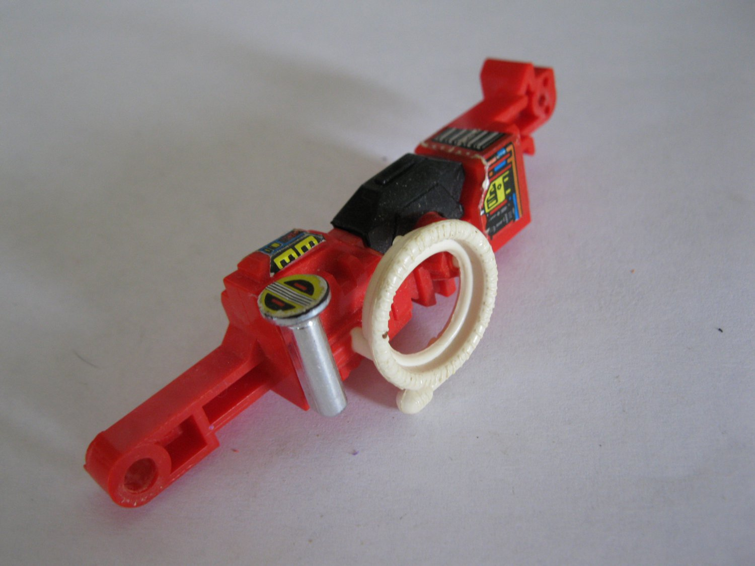 G1 Transformers Action figure part: 1985 Inferno - Left Leg