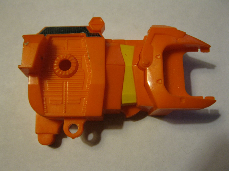 G1 Transformers Action figure part: 1986 Tantrum - Left Side Exterior Body Section