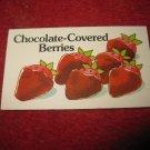 1983 Strawberry Shortcake Housewarming Surprise Board Game Piece: Recipe Card #10