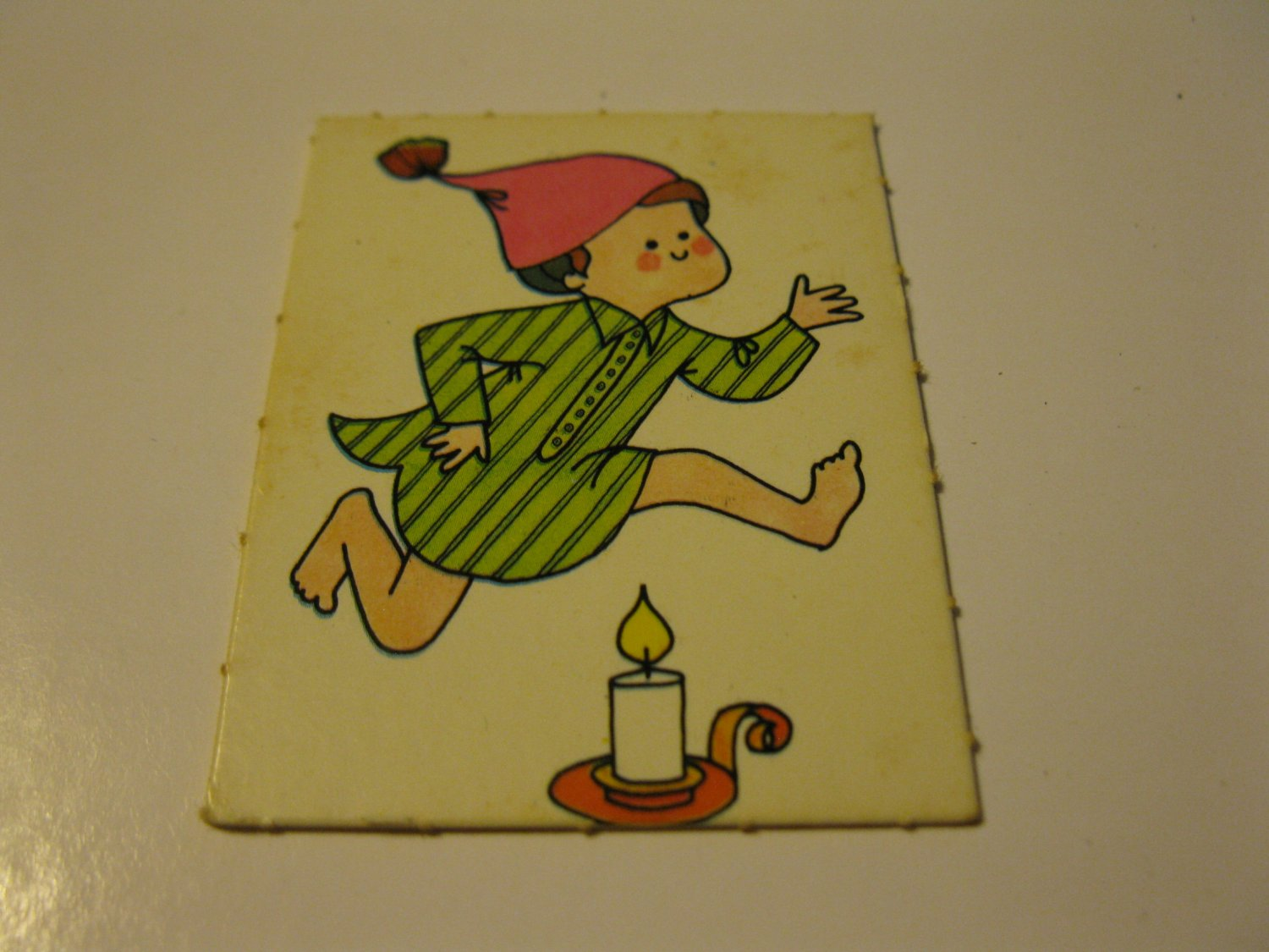 1971 Mother Goose Board Game Piece: Game card #3