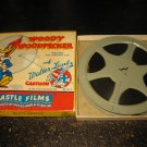 vintage Super 8 8mm Movie: Castle Films #510 - Woody Woodpecker 'What's Sweeping'