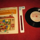 vintage 1966 GE Show 'N Tell Record and Film Cel Set #ST-206: Peter Rabbit