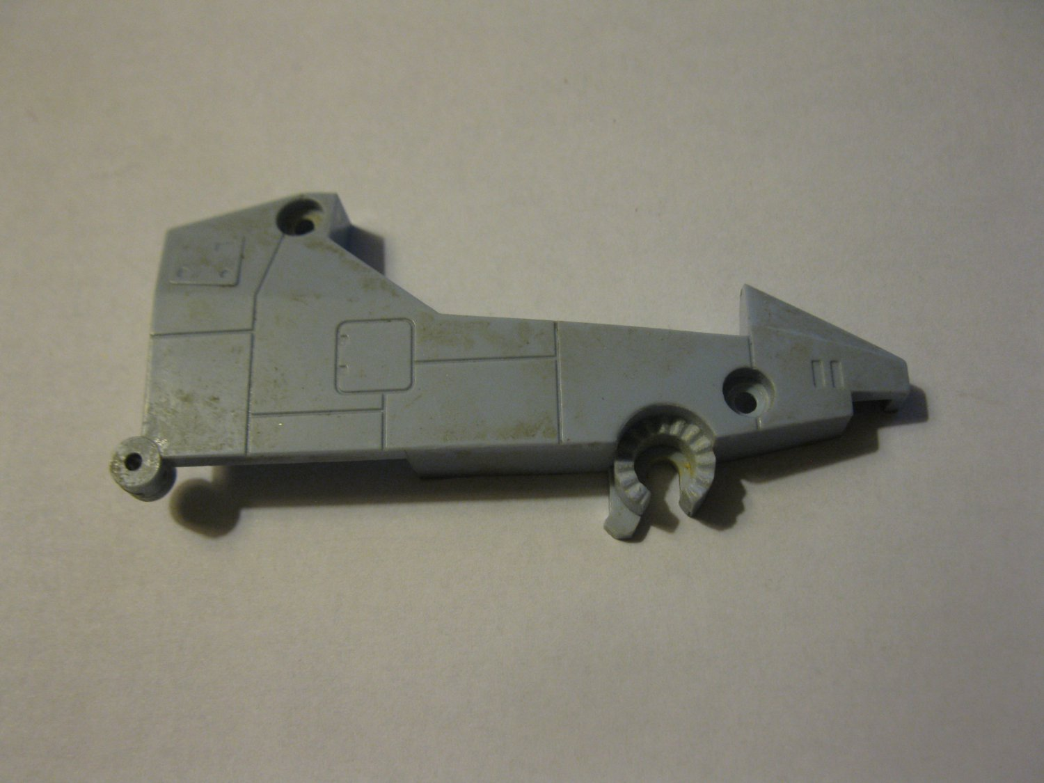 G1 Transformers Action figure part: 1985 Whirl - Helicopter Cockpit Right SIde