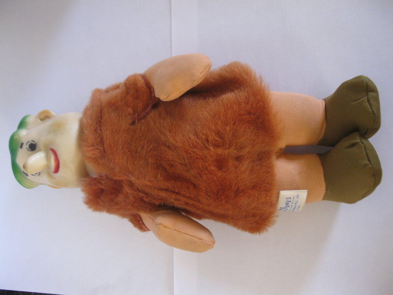 Vintage 1962 KnickerBocker Stuffed Plush Toy Doll: The Flintstones - Barney Rubble