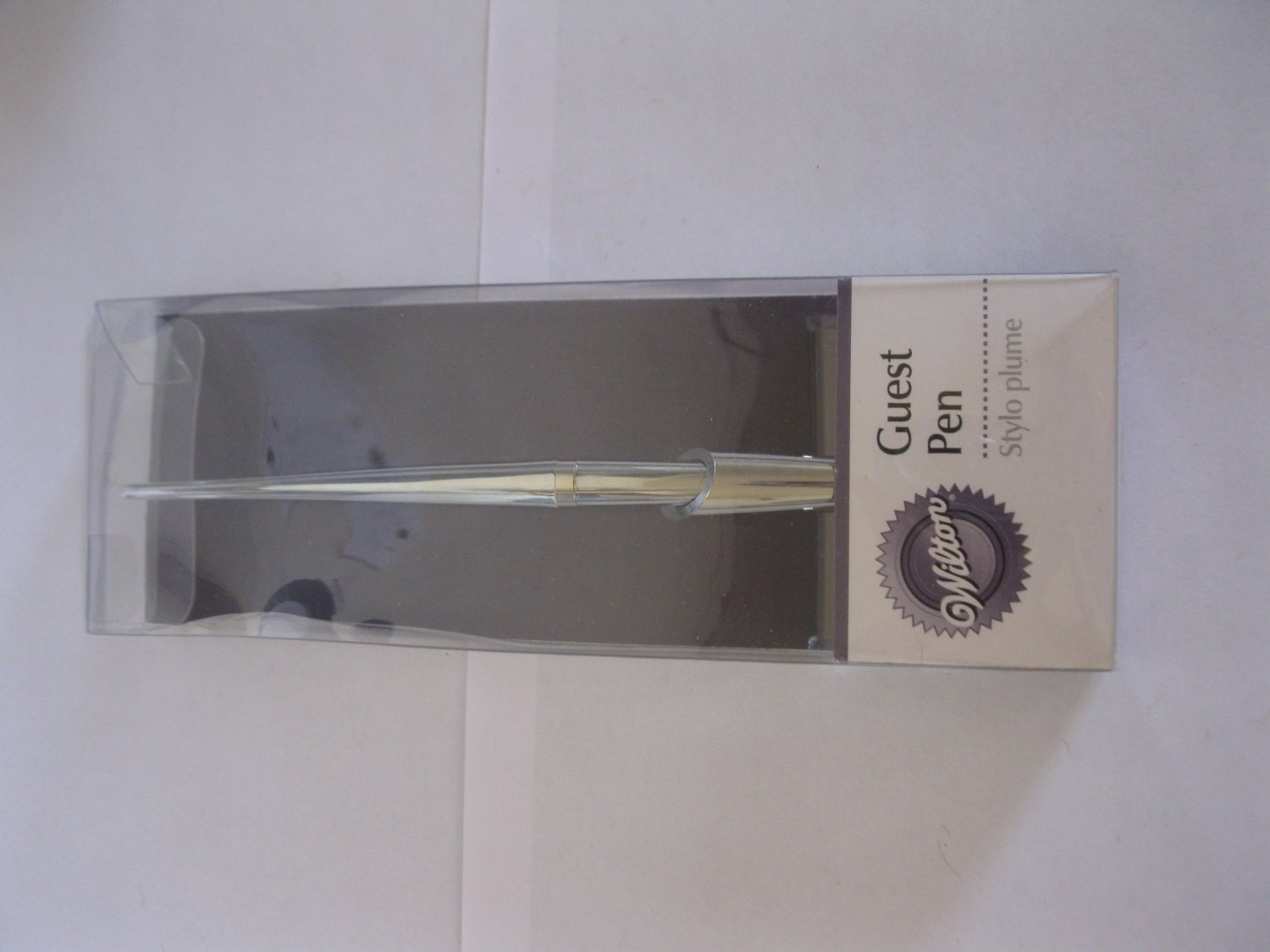 Brand New Wilton Guest Pen on stand - perfect for offices or ceremonies