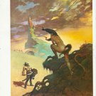 "vintage Frank Frazetta 11"" x 9"" Book Plate Print - Pony Tail"