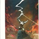 "vintage Frank Frazetta 11"" x 9"" Book Plate Print -Against the Gods"