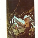 "vintage Frank Frazetta 11"" x 9"" Book Plate Print -Beyond the Forest Star"