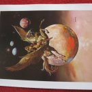 "vintage Boris Vallejo: Golden Wings - 11.5"" x 8.5"" Book Plate Print"