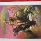 "vintage Boris Vallejo: Primeval Princess- 11.5"" x 8.5"" Book Plate Print"