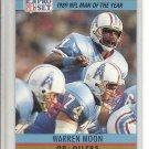 (b-32) 1990 Pro Set Football Card #4 Warren Moon