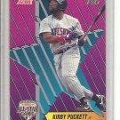 (b-32) SCORE All-Star Game P&G 1992 # 6 Kirby Puckett