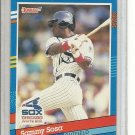 (b-32) 1991 Donruss #147 - Sammy Sosa