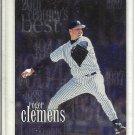 (b-32) 2000 Topps Chrome Refractor #472 Roger Clemens Baseball Card