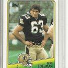 (b-32) 1988 Topps Football Card #60 Brad Edelman