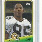 (b-32) 1988 Topps Football Card #317 Phillip Epps