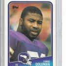 (b-32) 1988 Topps Football Card #157 Chris Doleman