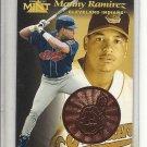 (b-32) 1997 PINNACLE MINT #14 MANNY RAMIREZ