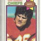 (b-32) 1979 Topps Football Card #183 Gary Barbaro