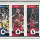 (b-32) 1996-97 Collector's Choice Mini-s #M93 Smith/Hardaway/Armstrong