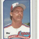 (b-32) 1989 Topps #647 - Randy Johnson Rookie card