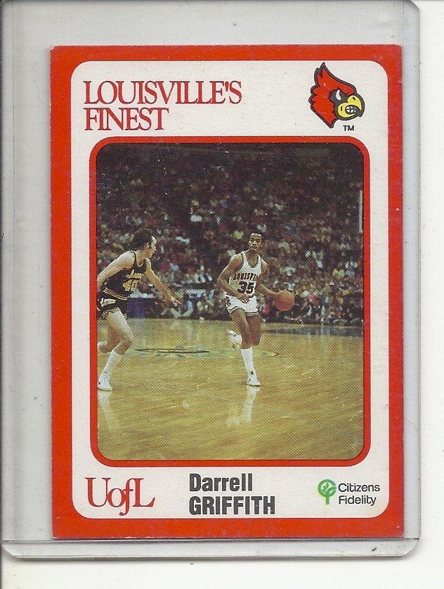 (b-32) 1988 Louisville's Finest #3 - Darrell Griffith