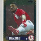 (b-32) 1995 Score Gold Rush #143 Brian Jordan