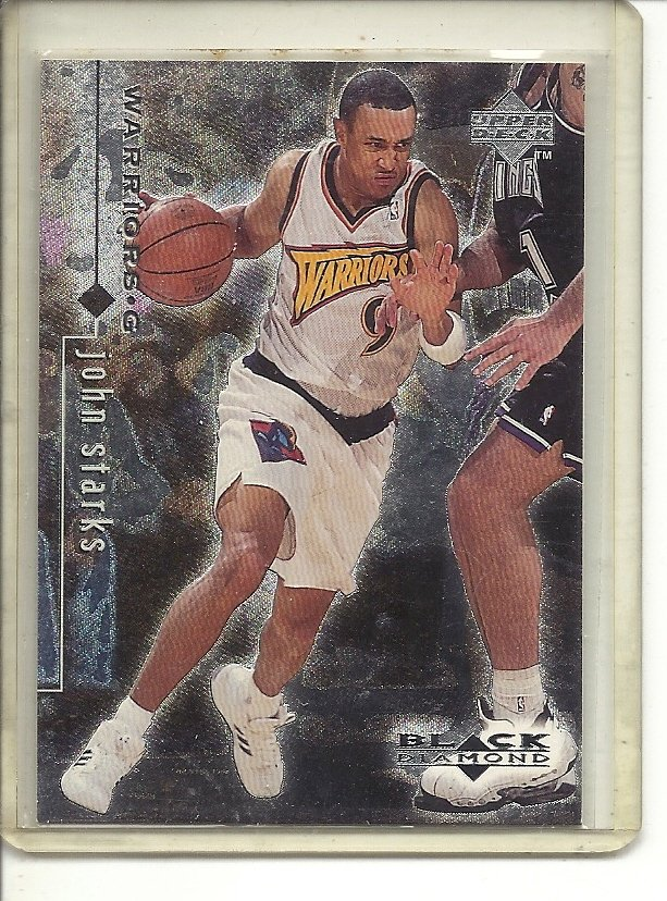 (b-32) 1998-99 Black Diamond #36 John Starks