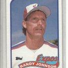 (b-32) 1989 TOPPS RC RANDY JOHNSON #647